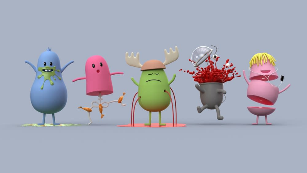 Dumb Ways JR characters