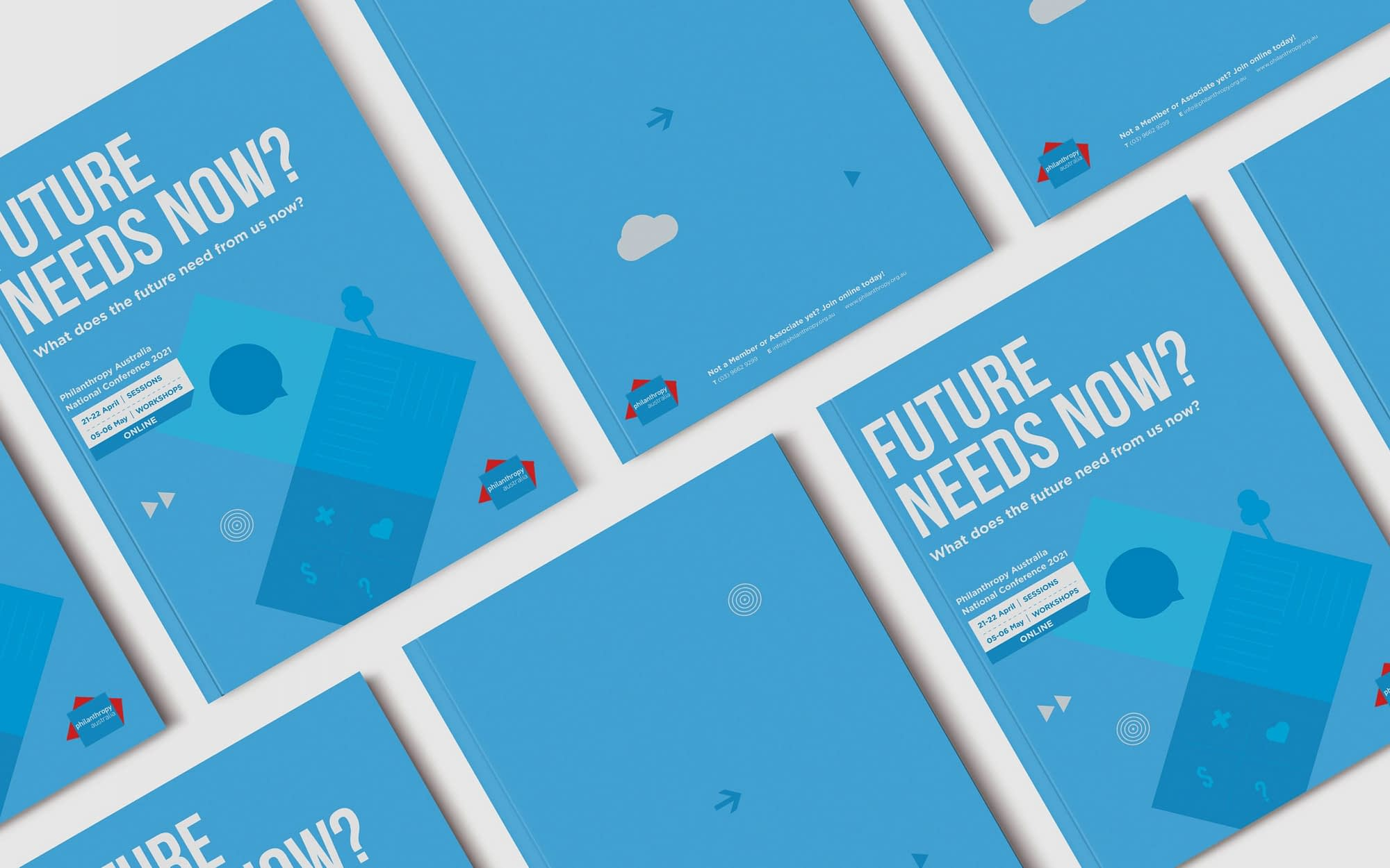 Philanthropy Australia National Conference 2021 Program cover