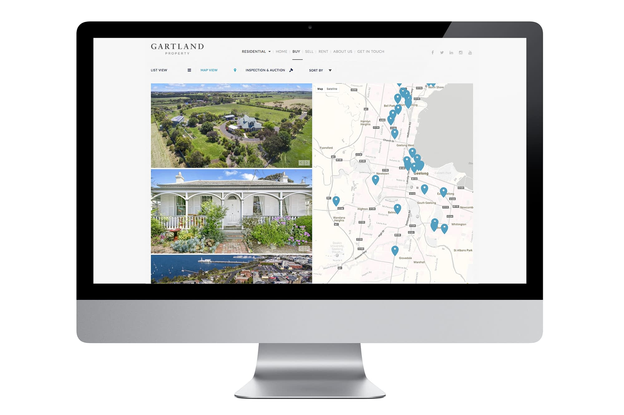 Gartland website Buy Property page