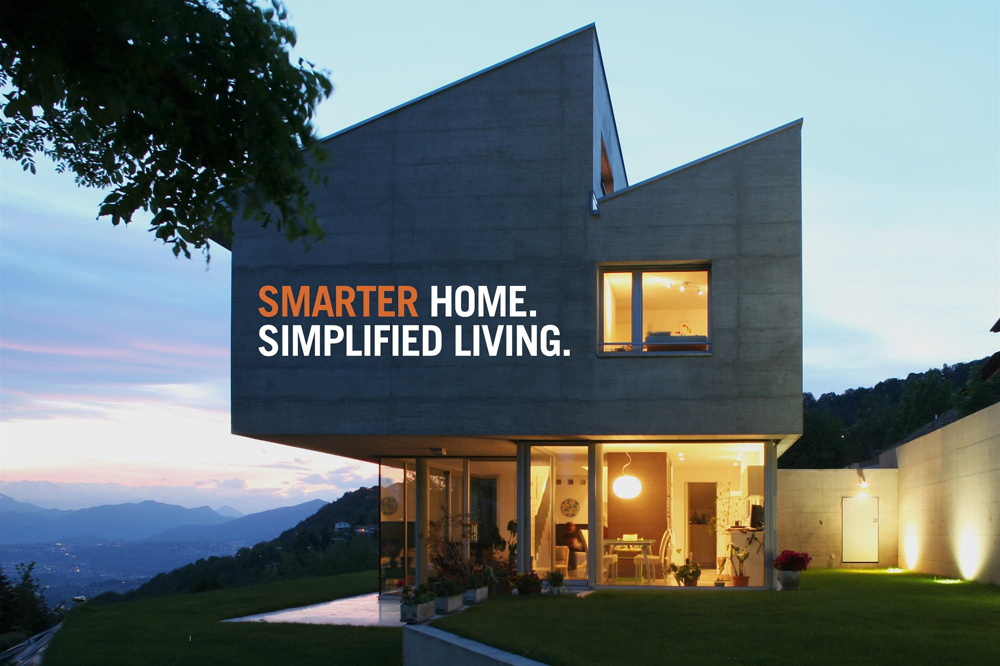 Smarter Home. Simplified Living.